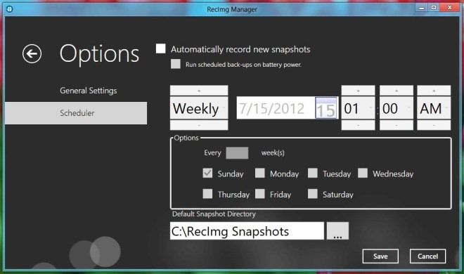 How to Backup and Restore System in Windows 8 - techinfoBiT