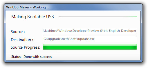 How to Create Bootable USB from Folder or ISO Files Using WinUSB Maker - techinfoBiT