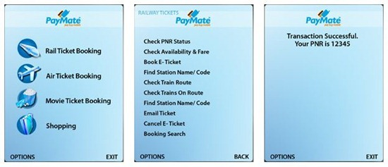 How to Book Train Tickets Through Mobile Using Paymate, Ngpay & Atom