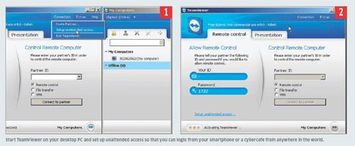 How to Remote Access Your Computer from a Smartphone - techinfoBiT