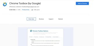 Enhance Google Chrome Feature With Chrome Toolbox - techinfoBiT
