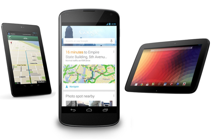 Google Announces New Nexus Phone and Tablets