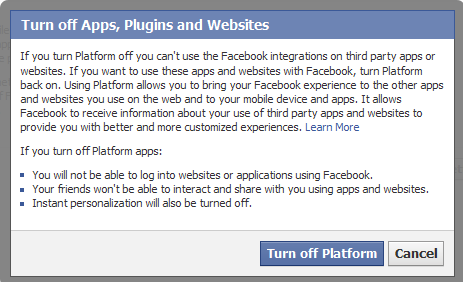How to Disable or Turn off Facebook Apps Permanently - techinfoBiT
