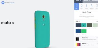Customize or Design Your SmartPhone With Motorola | Motorola Bringing Option to Customize SmartPhones Before Buy - techinfoBiT