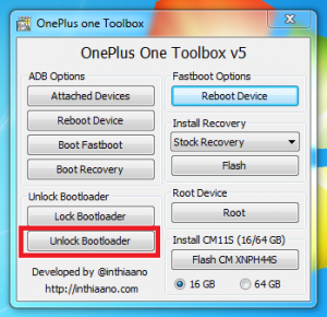 Unlock bootloader One plus one - techinfoBiT