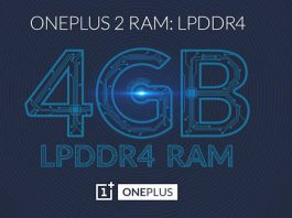 4GB LPDDR4 RAM Confirmed for OnePlus 2 | OnePlus 2 RAM - techinfoBiT