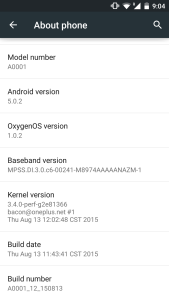 Oxygen OS 1.0.2 - techinfoBiT