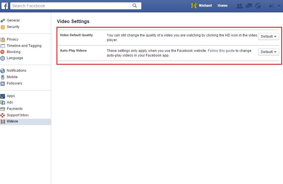 How To Disable facebook Video AutoPlay - techinfoBiT