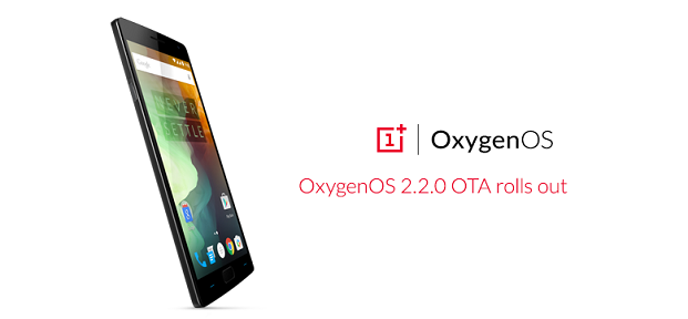 Upgrade OnePlus 2 Manually to OxygenOS 2.2.0