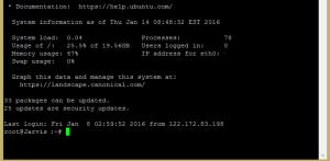 Setup Secure NGINX Server