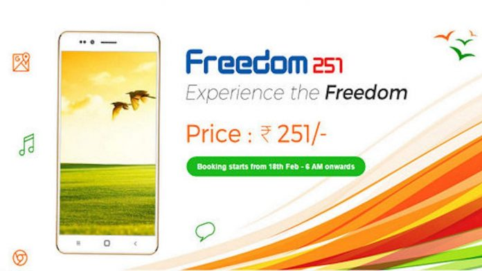 Freedom 251 - World's Cheapest SmartPhone | Freedom 251 Release Date - techinfoBiT