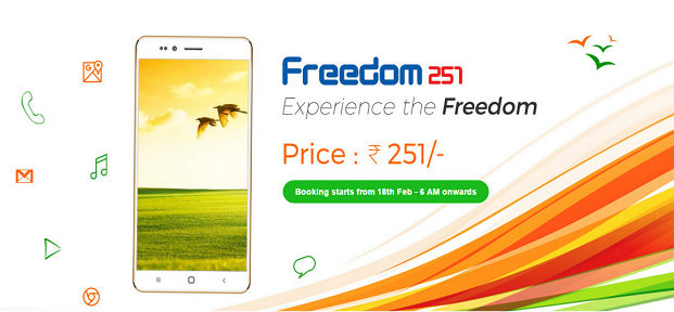Freedom 251 - World's Cheapest SmartPhone Freedom 251 Release Date