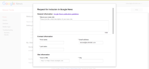 How To Submit Your Blog To Google News | techinfoBiT