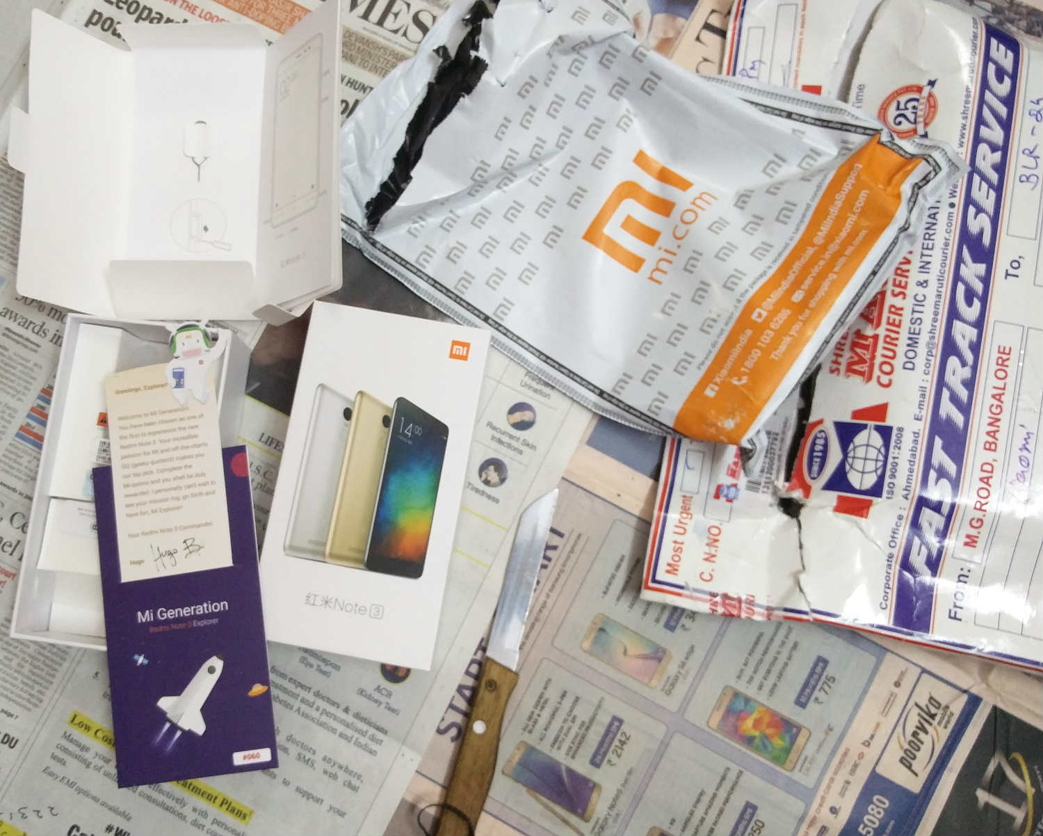 Unboxing & Hands on Xiaomi Redmi Note 3 India   MiExplorer India - techinfoBiT