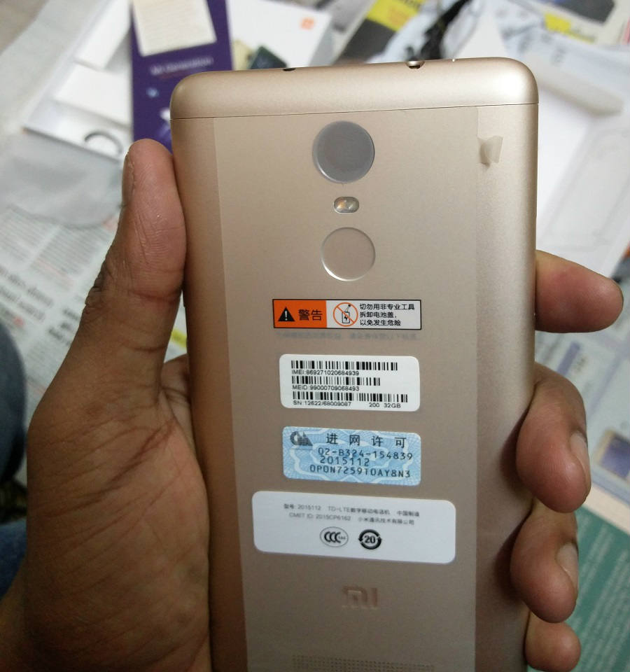 Unboxing & Hands on Xiaomi Redmi Note 3 India | MiExplorer India - techinfoBiT