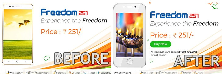 Manufacturer of Freedom 251 is Under Government Scrutiny