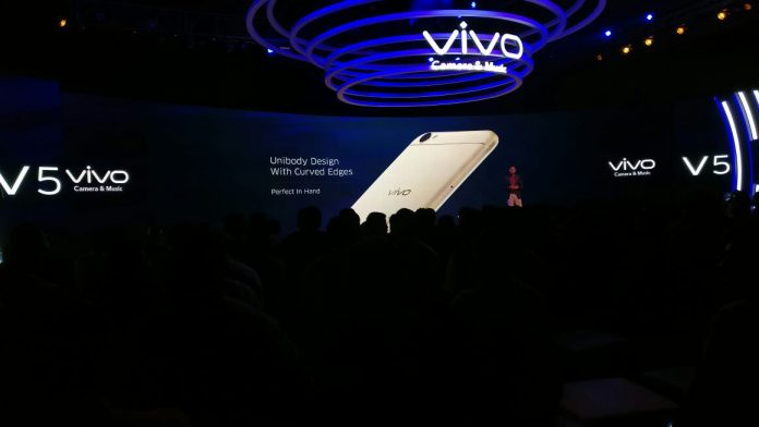 Vivo Has Launched Vivo V5 With 20 MegaPixel Selfie Camera | Price of Vivo V5 - techinfoBiT