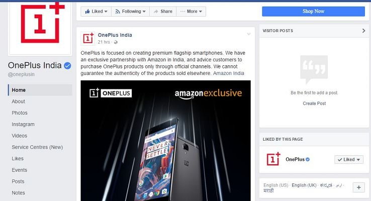 Flipkart Is Offering OnePlus 3 at Rs. 18,999 - Big Shopping Days Sale-Indian-Tech-Blog-Blogger-India