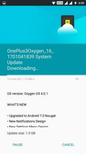 Get Android N OTA For OnePlus 3-3T Update OnePlus 3-3T to Android 7 Nougat-techinfoBiT-tech-blog-india-bangalore