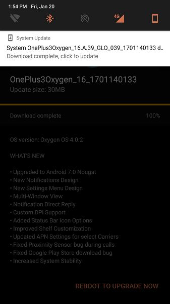 OnePlus Started Rolling Out OxygenOS 4.0.2 For OnePlus 3-3T-techinfoBiT (3)