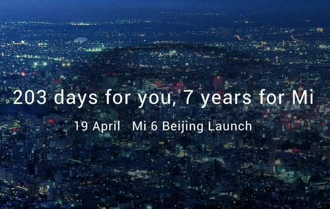 Xiaomi Mi 6 Is Coming Next Week Price & Release Date In India-techinfoBiT