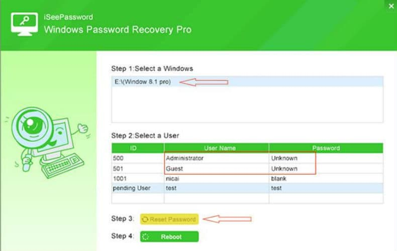 How To Reset Windows 7 Or Other Windows System's Login Password-techinfoBiT-tech-Blog