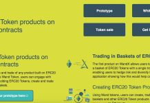 WandX - A Platform On The Ethereum Blockchain   Trading In Portfolios Of ERC20 Tokens On Smart Contracts