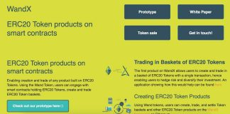 WandX - A Platform On The Ethereum Blockchain | Trading In Portfolios Of ERC20 Tokens On Smart Contracts