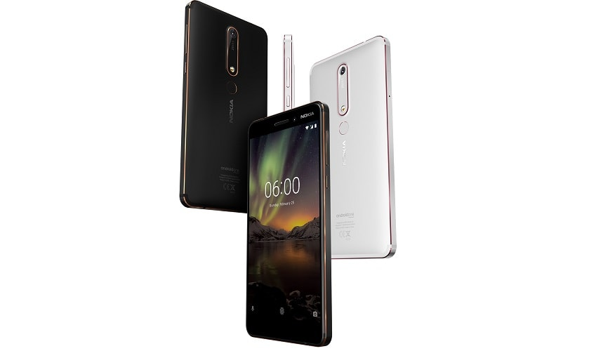 HMD Global Has Introduced 5 New Phones, Including Revamped Nokia 8110-techinfoBiT Nokia 6-Price and Release Date In India