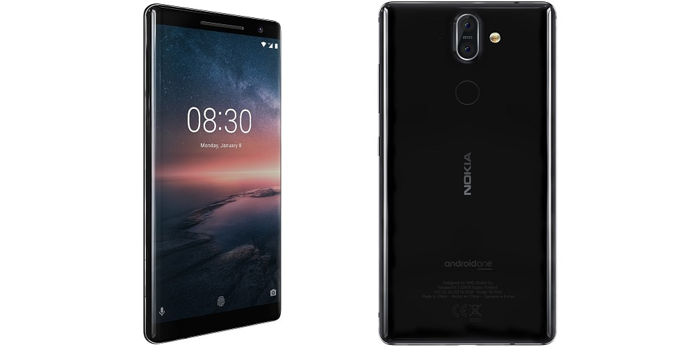 HMD Global Has Introduced 5 New Phones, Including Revamped Nokia 8110-techinfoBiT -Nokia 8 Sirocco-Price and Release Date in India
