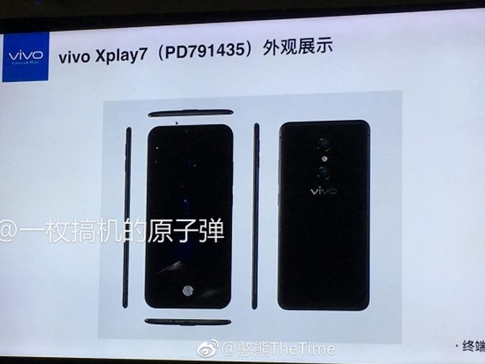 Vivo May Launch The World's First SmartPhone With 10GB RAM-techinfoBiT-Under-Display-Fingerprint-Sensor-Specification