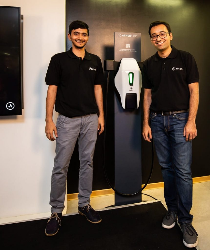 Ather Grid - A Citywide Electric Vehicle Charging Infrastructure By Ather Energy-Ather Electric Scooter S340-techinfoBiT