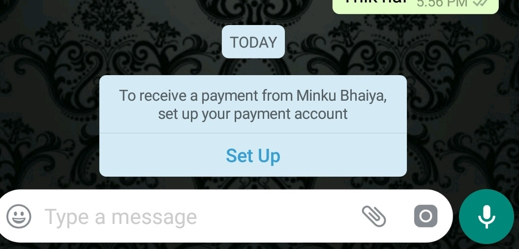 How To Setup WhatsApp Payments Account-Enable WhatsApp Payments-techinfoBiT