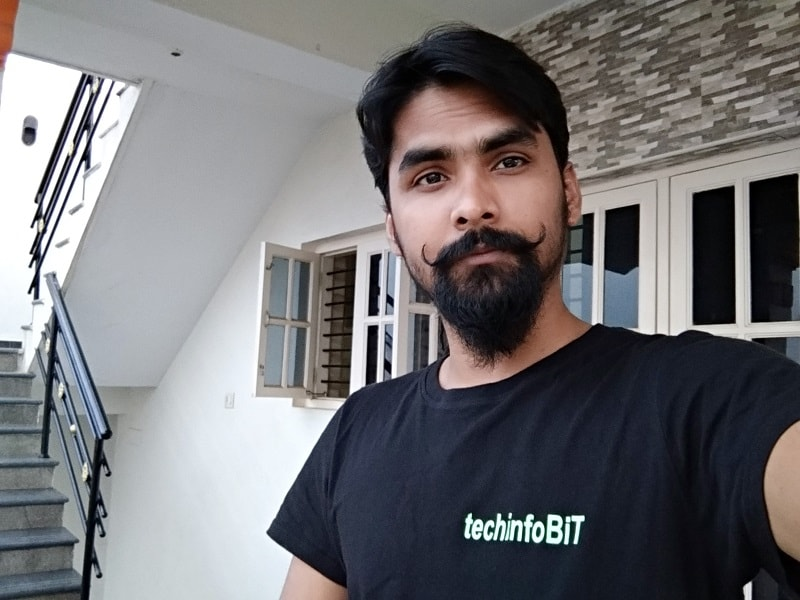 Selfie Sample Xiaomi Redmi Note 5 - Review Zenfone Max Pro M1 and Comparison With Redmi Note 5-techinfoBiT-Tech-Blog