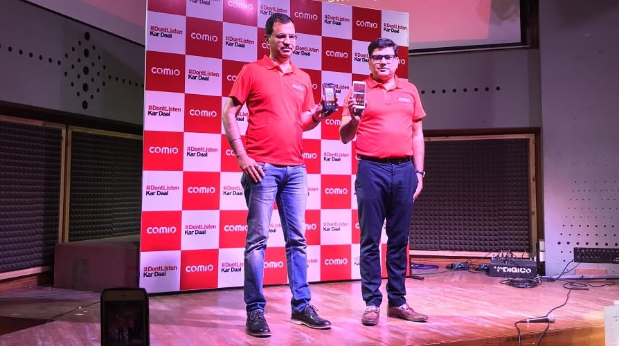 Comio Smartphone Entered Into South Indian Market With The Launch Of X1 Note - techinfoBiT