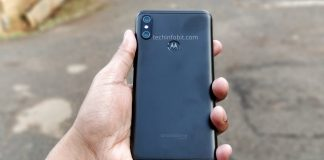 Moto One, the First Ever Motorola Phone with Display Notch | Real Photos of Moto One - techinfoBiT
