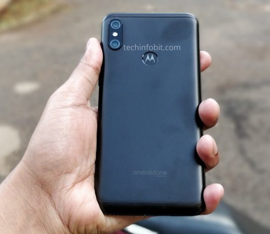 Moto One, The First Ever Motorola Phone With Display Notch-Real Photos Of Moto One-Leaked - techinfoBiT