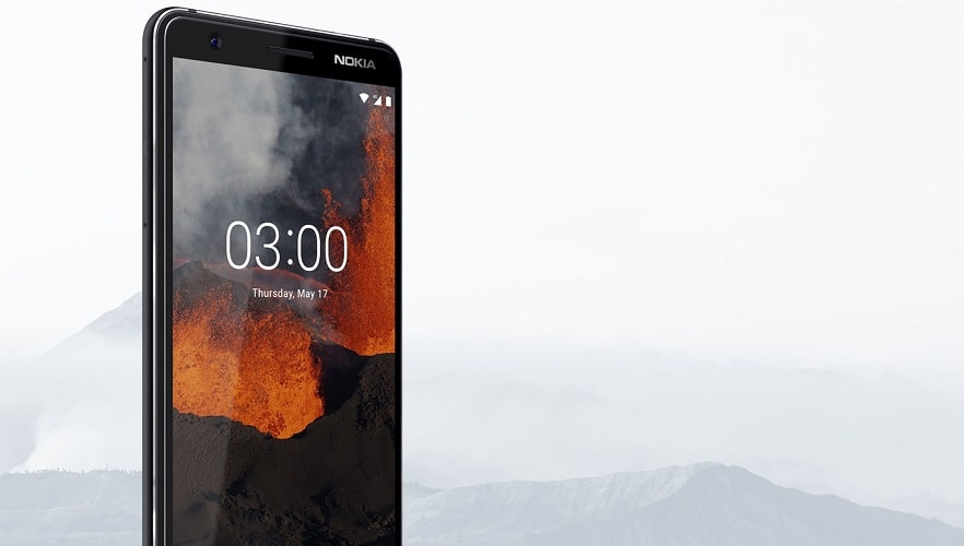 Nokia 3.1, A Refreshed Version Of Nokia 3 Launched With Android One - techinfoBiT-Nokia Budget Mobile Phones