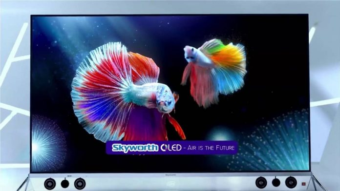 Skyworth is About to Launch Their Thinnest OLED TV in India Soon - techinfoBiT