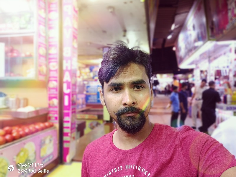 Full-Review-Of-Vivo-V11-Pro-#U2013-Totally-Justified-Its-Price-Tag-V11-Pro-Front-Camera-Review-Selfie-Review-techinfoBiT-1