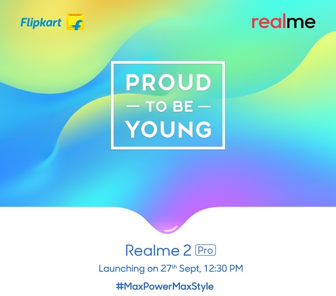 RealMe 2 Pro Is Coming On September 27, Confirmed To Be The Flipkart Exclusive - First Look Price and Realease Date - banner -techifnoBiT