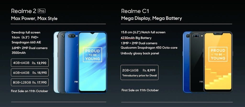 RealMe Has Released RealMe 2 Pro and RealMe C1 With Crazy Low Price Tags-techinfoBiT-RealMe C1 Photos-Pictures-techinfoBiT