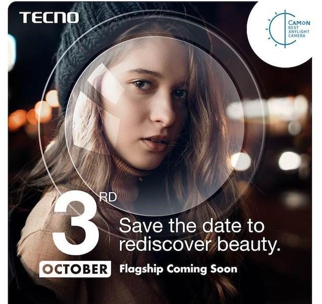 TECNO To Launch A Selfie Centric Flagship Mobile Phone On October 3-Camon X Pro-Release Date-Price-techinfoBiT