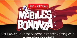 Flipkart Mobile Bonanza Sale: Big Discounts on Various Mobile Phones-techinfoBiT
