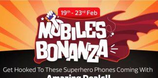 Flipkart Mobile Bonanza Sale: Big Discounts on Various Mobile Phones-techinfoBiT