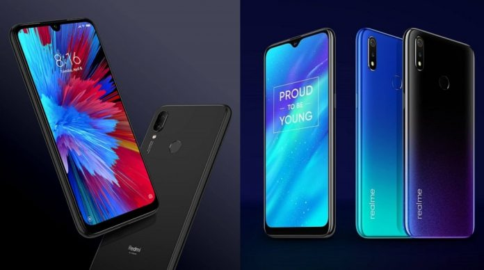 Realme 3 vs Redmi Note 7 Features, Comparisons, and Which One to Buy difference between - techinfoBiT