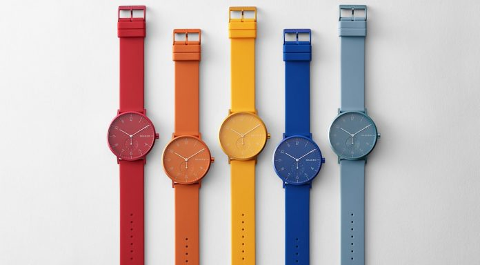 Skagen Has Introduced the Colorful Watches, Priced at INR 6,995 Onwards - techinfoBiT
