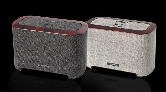 Lumiford 2.1 SubWoofer Dock, A Wireless Speaker with Unique Docking Design - techinfoBiT