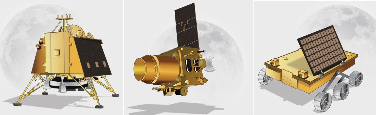 Rover-Pragyan-Lander-Vikram-ISRO is Going to Make History Tomorrow, All Set to Launch Lunar Mission Chandrayaan 2-Science-Space News-techinfoBiT