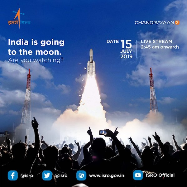 isro-is-going-to-make-history-all-set-to-launch-the-lunar-mission-chandrayaan-2-techinfoBiT